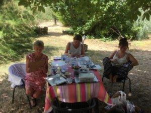 Tekencursus @ Domaine Les Gonies | Mauroux | Occitanie | Frankrijk
